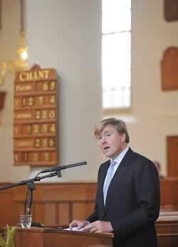 Opening speech by HRH the Prince of Orange